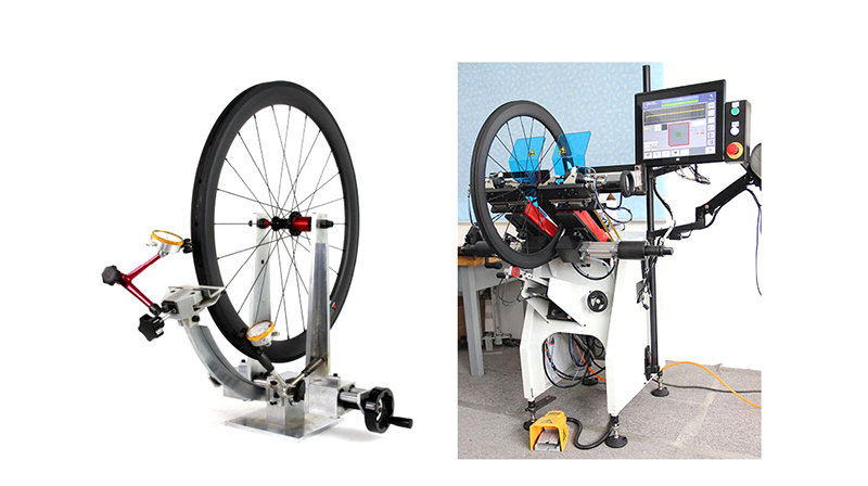 carbon road wheels inspection machine