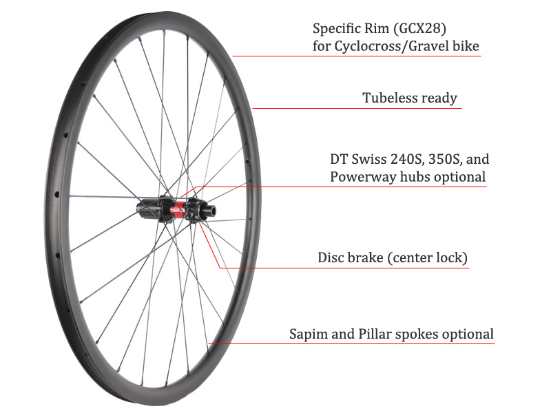 gravel carbon wheel features