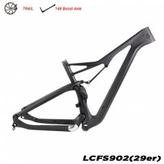 full-suspension proef mountainbike frame