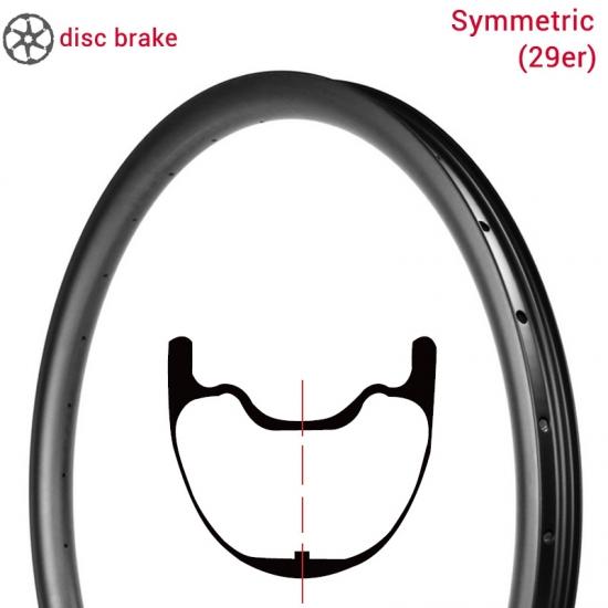 Mountainbike 29er Symmetry Mtb Carbon Velgen Leveranciers