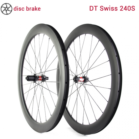 lightcarbon road disc wielset